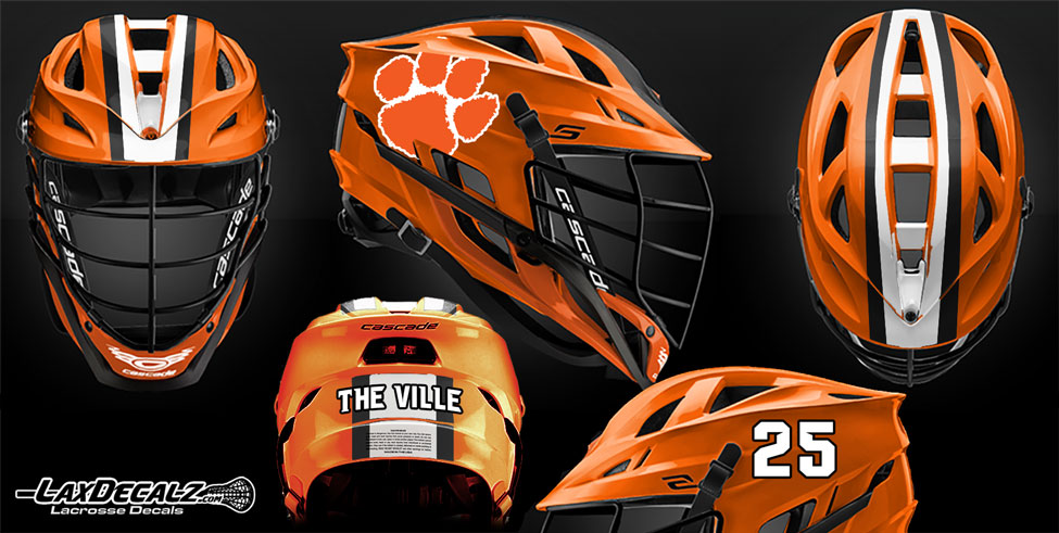 Lacrosse Customer Designs by LAXDecalz